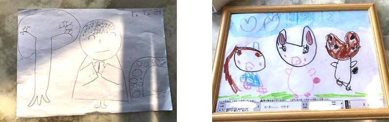 お子様やお孫さんが描いた絵のイメージ1